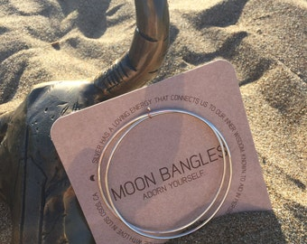 Moon Bangles
