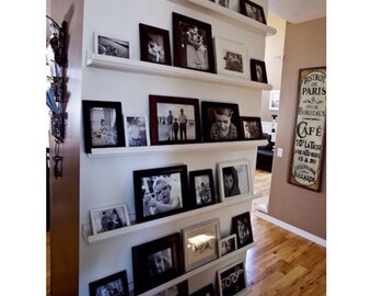 72 Inch Gallery Picture Shelf