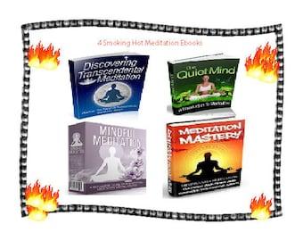 Mindful Transcendental Meditation Quiet Mind and Mastery Meditate 4 ebook