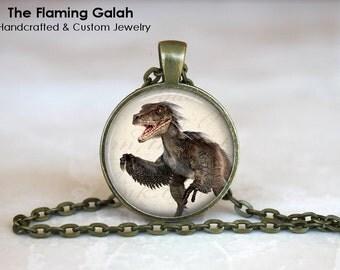 DINOSAUR Pendant •  Paleontology •  Dinosaur Necklace •  Dinosaur • Gift Under 20 • Made in Australia ((P1140)