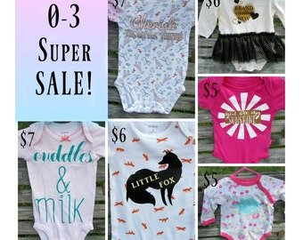0-3m FLASH SALE!!!
