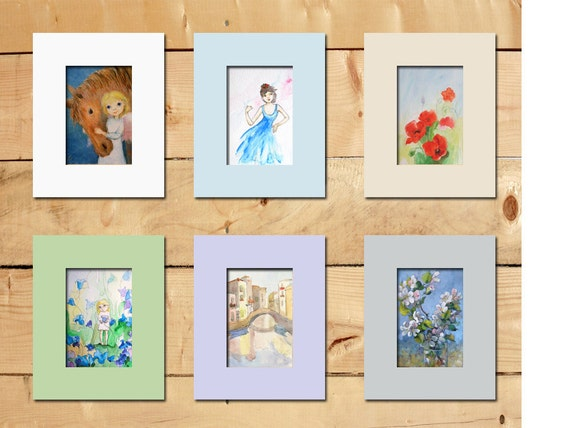 Picture Frame Mat For Your Print Or Painting Only From My
