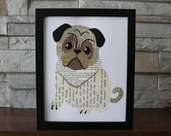 Pug Dog Puppy Print