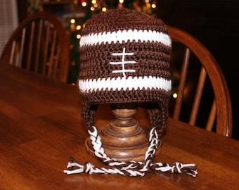 Football Ear-Flap Hat
