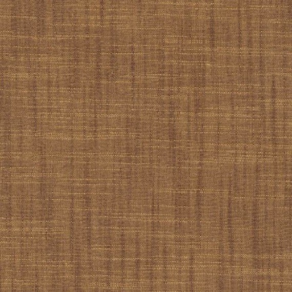 Caramel Cotton Fabric by Robert Kaufman, Manchester, Brown Cotton Fabric