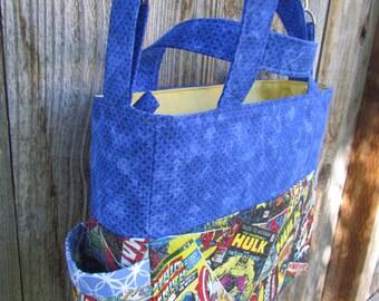 Marvel Diaper Bag, Comic, Nappy Bag,