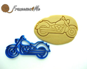 Motorcycle Cookie Cutter/Multi-Size