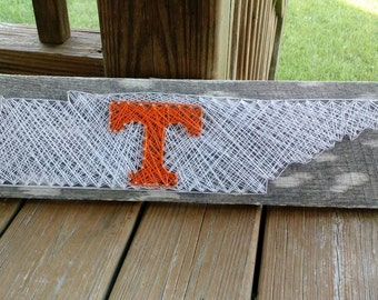 Power T in Tennessee String Art