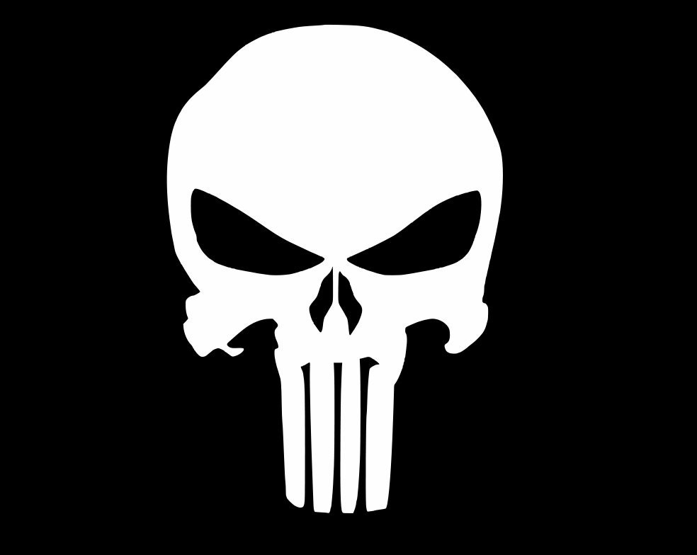 Punisher Skull Vinyl Decal Yeti Cup Decal Smartphone Decal - Jeep vinyls for yeti cups