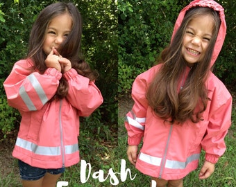 Children's Monogrammed Charles River Rain Jackets, Youth Jacket, Personalized Clothing, Rain, Gift Item