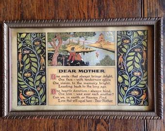 Dear Mother poem