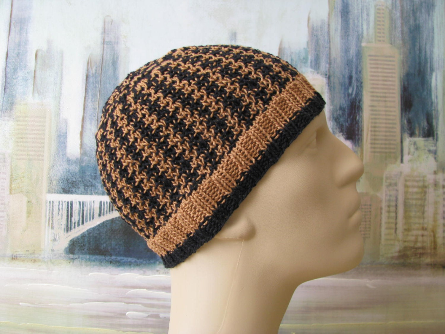 Mens hat pattern luiz mens knitted hat zoom bankloansurffo Gallery
