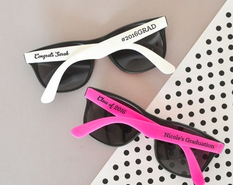 Personalized Graduation Sunglasses (Set of 24)