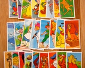 PG Tips Brooke Bond The Magical World of Disney Complete Set of 25 Picture Tea Cards (1989)