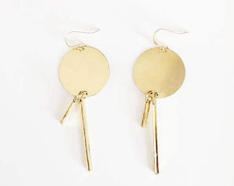 ARA Asymmetrical Earrings