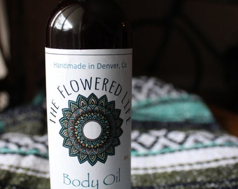 Organic Body Oil Unscented