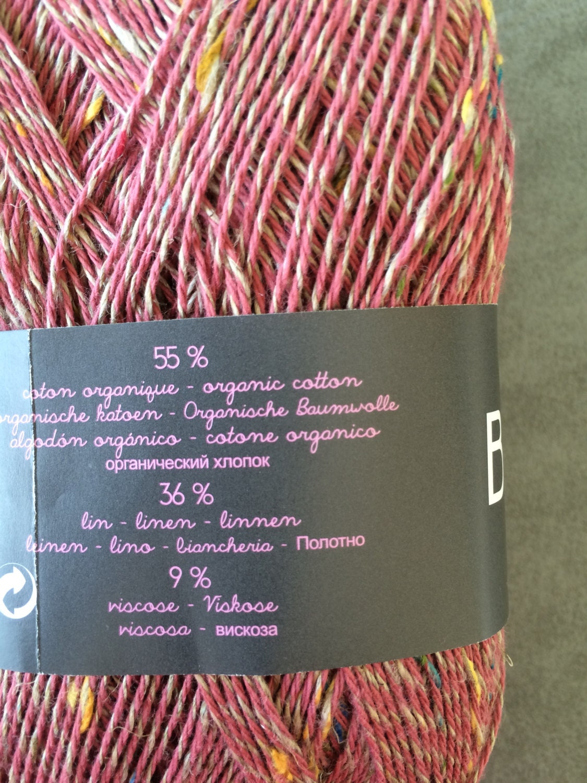 Yarn organic cotton yarn hand knitting yarn fingering for Natural multi colored roses