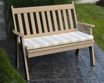Recycled Plastic Traditional English 4ft. Garden Bench