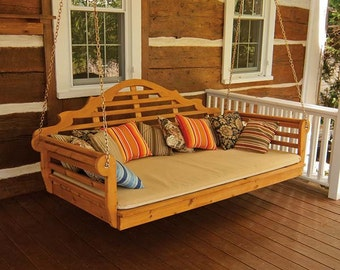 Red Cedar Marlboro 6ft. Hanging Swing Bed