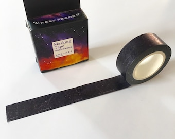 Washi Tape constellations 1, 5cmx10mt/masking tape constellation