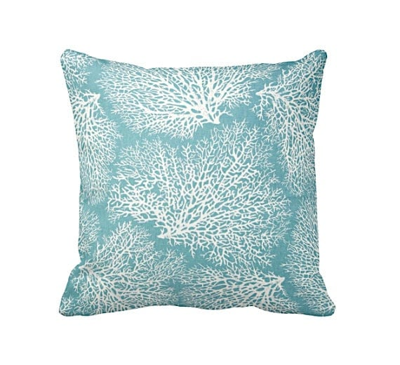 6 Sizes Available: Blue Throw Pillow Covers Decorative Pillow