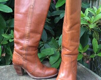 Vintage 70s Frye Boots - Size 9