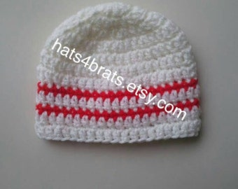 Baby Hat, Baby Crochet Hat, Boys Hat, Baby Boy Hat, Newborn Crochet Hat, Infant Crochet Hat, Newborn Hat, Infant Hat, Boys Beanie Hat
