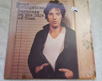 Bruce Springsteen and the E-Street Band - Darkness on the Edge of Town - Album Vinyl LP Record