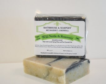 Wild Nettle & Rosemary Shampoo Soap