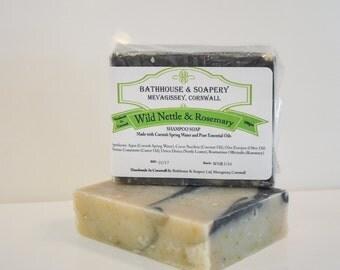Wild Nettle & Rosemary Shampoo Soap