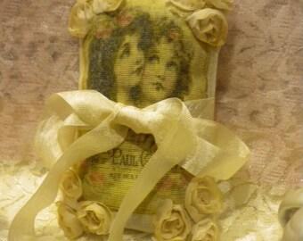 Lavender Sachet Victorian Girls