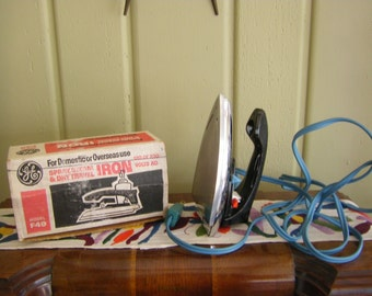 General Electric Travel Iron Model F49 1970's