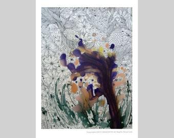 "Postcard ""Full Bloom"""