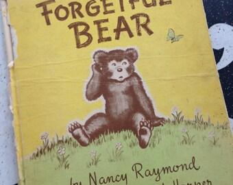 Forgetful Bear Hardback Children's Book