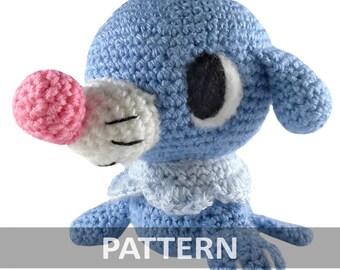 Pattern yoshi amigurumi crochet plush pdf by icrochetthings for Yoshi plush template