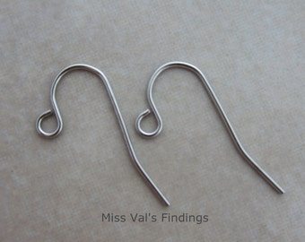 500 stainless steel ear wires earring hooks 21 gauge
