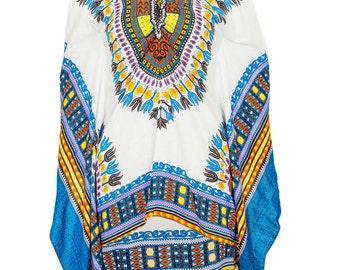 Dashiki style dress top, african print top, handmade dashiki top, butterfly sleeve top