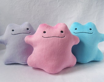 Ditto Handmade Pokemon Plush *Made To Order*