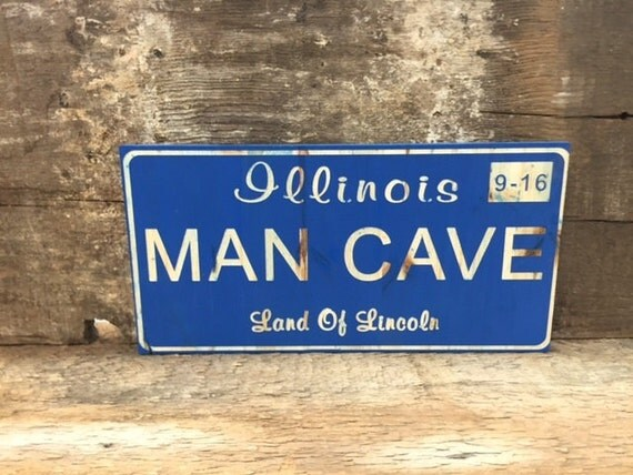 Man Cave Nicknames : License plate art custom engraved with your state and name