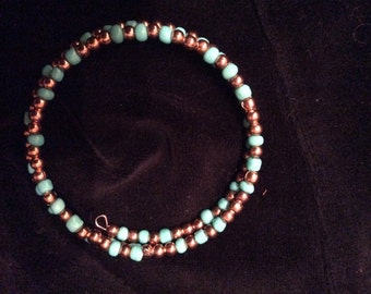 Turquoise rose gold