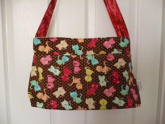Kitty Kats Purse Diaper Bag