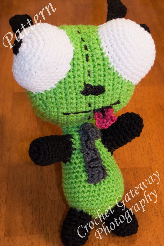 Crochet Invader Zim Patterns Manet For