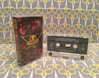Permanent Vacation by Aerosmith Cassette Tape rock Steven Tyler
