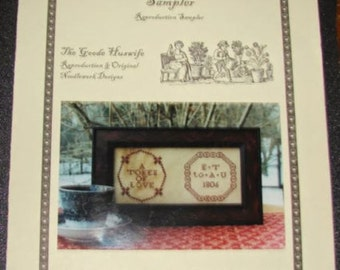 Quaker Marriage Sampler by The Goode Huswife
