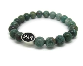 Marshfield, MAR, Marshfield Gifts, Marshfield Jewelry, Marshfield Bracelet, Green Quartz
