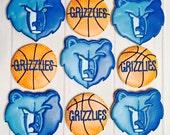Memphis Grizzlies cookies