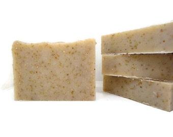 Oatmeal Milk & Honey Handmade Shampoo Loaf, Vegan Shampoo, Natural Shampoo, Natural Hair Care