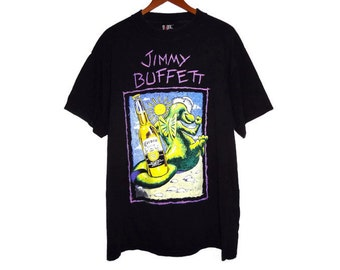 Vintage 1994 Jimmy Buffett Tour Shirt - XL - Fruitcakes on Tour - Margaritaville - 90s - Band Tee - Rock Shirt - Corona - Band t-shirts -