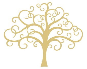 Tree Of Life Unfinished MDF Wood Cutout Variety of Sizes USA Made Christmas Decor