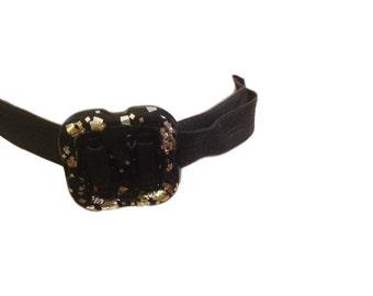 Vigner Black Vintage Belt